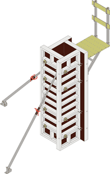 Опалубка колонн Standart